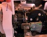 Узел регулировки натяжения нитки швейной машинки