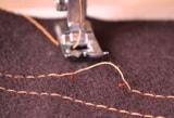 Пропуски стежков швейной машинкой